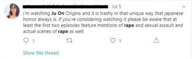 Khán giả phẫn nộ lên án tình tiết cưỡng hiếp tập thể ở phim ma Ju-on: Origins - Ảnh 8.