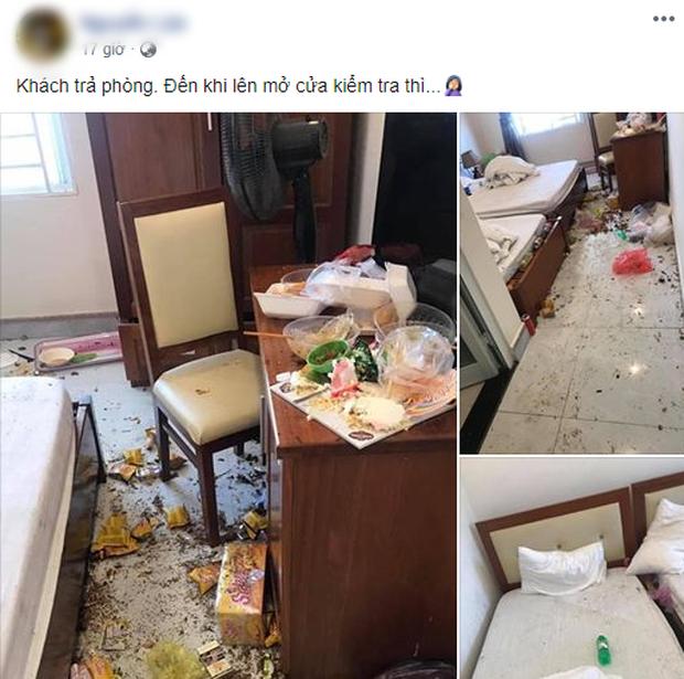 Nhóm khách thuê phòng khách sạn nhưng trả lại một... bãi chiến trường, dân tình vừa ngao ngán vừa thương người dọn dẹp - Ảnh 1.