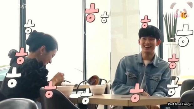Kim Soo Hyun đứng hình vì một cú chạm của Seo Ye Ji ở hậu trường Điên Thì Có Sao, tưởng anh né thính giỏi lắm mà? - Ảnh 2.