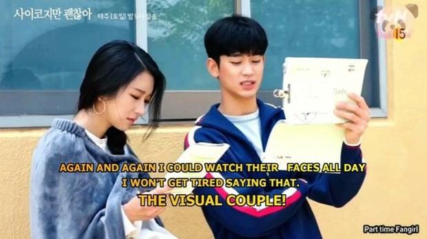 Kim Soo Hyun đứng hình vì một cú chạm của Seo Ye Ji ở hậu trường Điên Thì Có Sao, tưởng anh né thính giỏi lắm mà? - Ảnh 10.
