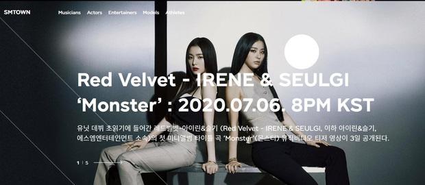 Fan phẫn nộ vì SM lại hoãn MV của IRENE & SEULGI mà không thông báo 1 lời, ghi sai tên thành… EXO-SC khi giới thiệu trên trang chủ - Ảnh 2.