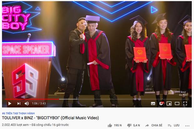 Bigcityboi của Binz đã vươn lên Top 3 trending Việt Nam, xâm chiếm luôn top trending tại Canada, Mỹ, Úc chỉ sau 15 giờ phát hành - Ảnh 4.