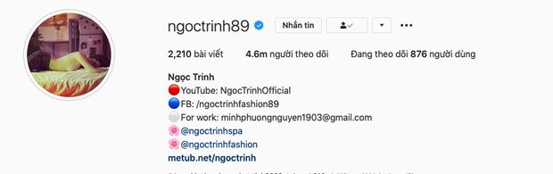 Ngọc Trinh bứt phá lên mốc 4,6 triệu follower sánh ngang Chi Pu, cuộc đua độ hot trên MXH căng lắm rồi! - Ảnh 2.