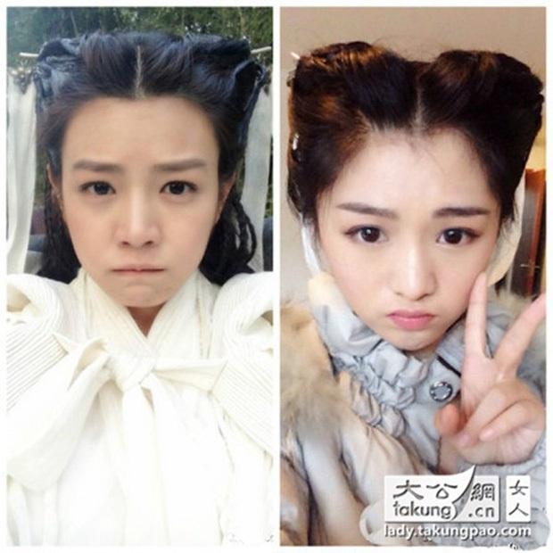Khi mỹ nhân Cbiz đọ sắc với diễn viên đóng thế: Dương Mịch, Angela Baby cứ như có chị em sinh đôi vậy - Ảnh 20.