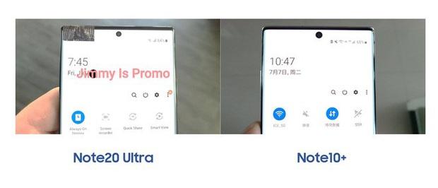 Samsung Galaxy Note 20 Ultra lần đầu tiên lộ ảnh thực tế: Viền bezel mỏng hơn, camera đục lỗ nhỏ hơn, màn hình cong hơn - Ảnh 3.