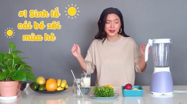 Châu Bùi thị phạm 3 món sinh tố rau xanh thay bữa chính mà vẫn đầy đủ dưỡng chất: Binz mà hẹn hò với Châu Bùi thật thì kiểu gì cũng lây lối sống healthy của cô nàng - Ảnh 3.