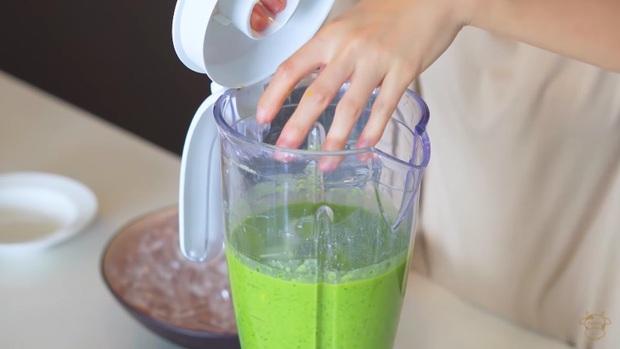 Châu Bùi thị phạm 3 món sinh tố rau xanh thay bữa chính mà vẫn đầy đủ dưỡng chất: Binz mà hẹn hò với Châu Bùi thật thì kiểu gì cũng lây lối sống healthy của cô nàng - Ảnh 9.