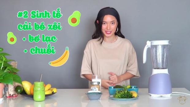 Châu Bùi thị phạm 3 món sinh tố rau xanh thay bữa chính mà vẫn đầy đủ dưỡng chất: Binz mà hẹn hò với Châu Bùi thật thì kiểu gì cũng lây lối sống healthy của cô nàng - Ảnh 11.