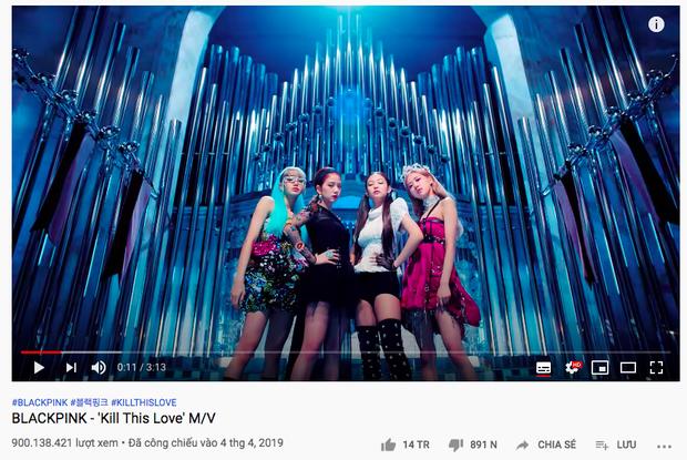 Đang stream How You Like That thì được tặng poster ăn mừng Kill This Love đạt 900 triệu view, chả mấy chốc BLACKPINK có MV tỷ view thứ 2! - Ảnh 3.