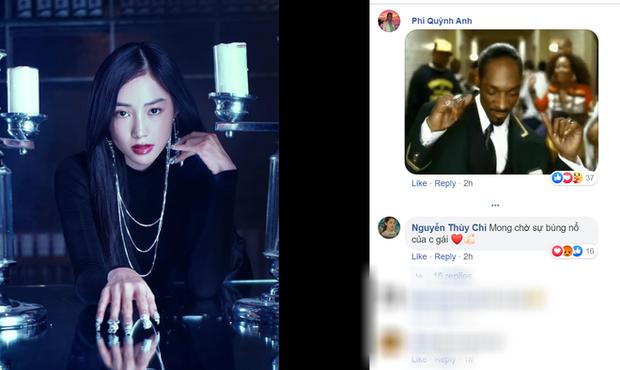 Lần đầu tiên Quỳnh Anh Shyn và Chi Pu cùng bình luận dưới 1 bài đăng sau drama nghỉ chơi - Ảnh 2.