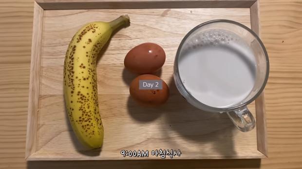 Thử chế độ ăn kiêng với duy nhất 3 món cho 3 bữa trong ngày của Hyosung, cô nàng vlogger xứ Hàn giảm 3kg sau 5 ngày - Ảnh 8.