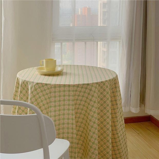 Giờ hội chị em sành điệu toàn dùng khăn trải bàn làm phông nền sống ảo thôi, bạn cũng nên biết để bắt trend kịp thiên hạ - Ảnh 13.