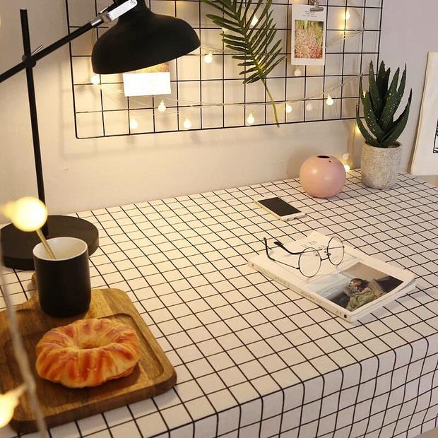 Giờ hội chị em sành điệu toàn dùng khăn trải bàn làm phông nền sống ảo thôi, bạn cũng nên biết để bắt trend kịp thiên hạ - Ảnh 11.
