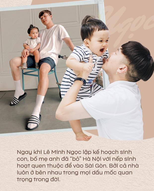 Stylist Lê Minh Ngọc: Bố mẹ chấp nhận đảo lộn cuộc sống khi tôi quyết định nhờ người mang thai hộ để được làm bố - Ảnh 1.