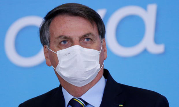 Tổng thống Brazil điều trị Covid-19 bằng thuốc sốt rét - Ảnh 1.