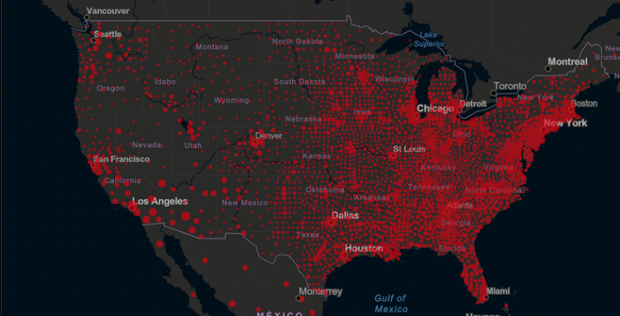 Số ca nhiễm mới trong ngày ở Mỹ tăng kỷ lục - Ảnh 1.