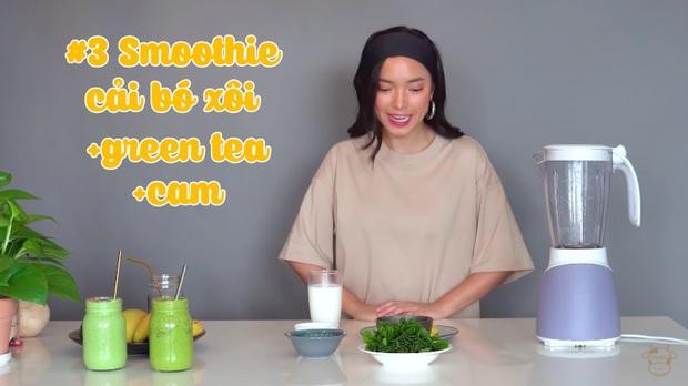 Châu Bùi thị phạm 3 món sinh tố rau xanh thay bữa chính mà vẫn đầy đủ dưỡng chất: Binz mà hẹn hò với Châu Bùi thật thì kiểu gì cũng lây lối sống healthy của cô nàng - Ảnh 18.