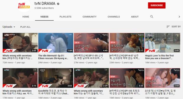 6 phim Hàn hot nhất trên Youtube: Màn giường chiếu 18+ của Park Seo Joon ở Thư Ký Kim chính thức vượt mốc 70 triệu - Ảnh 1.