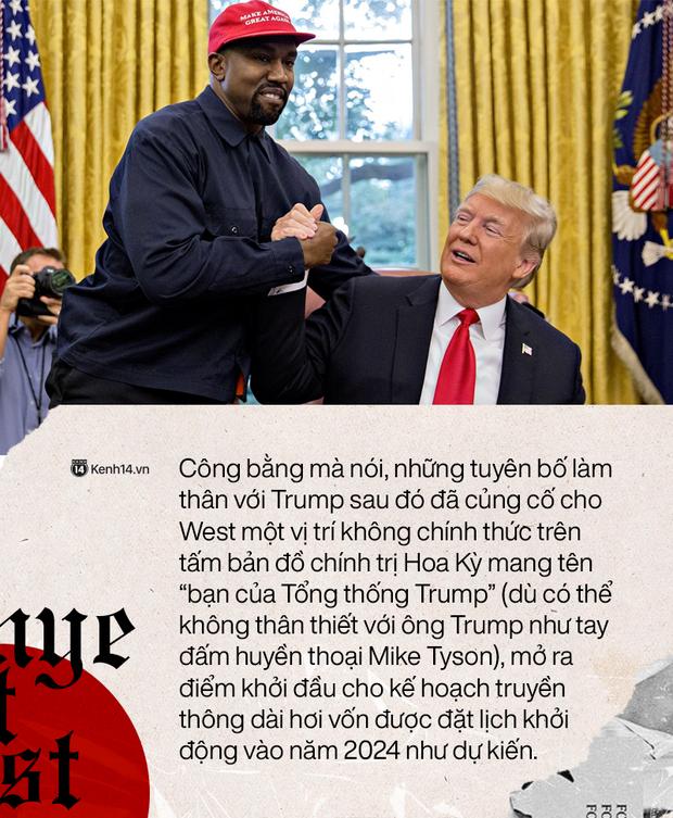 """""""Kẻ thất bại vĩ đại"""": Kanye West tranh cử Tổng thống và chiến lược thất bại công phu - Ảnh 1."""