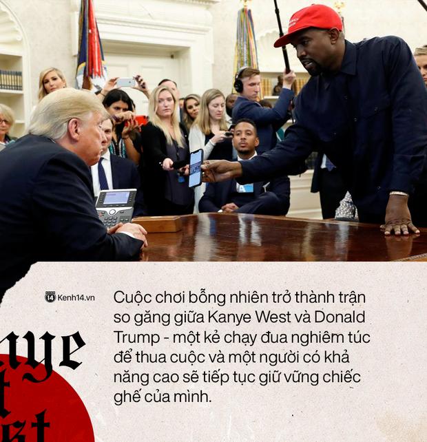 """""""Kẻ thất bại vĩ đại"""": Kanye West tranh cử Tổng thống và chiến lược thất bại công phu - Ảnh 5."""