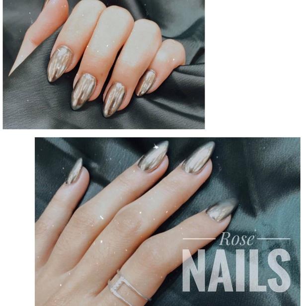 """Đi đâu cũng gặp """"nail Black Pink"""", đỉnh nhất là mẫu nail vuông lì giống Lisa nàng nào cũng muốn bắt chước - Ảnh 4."""
