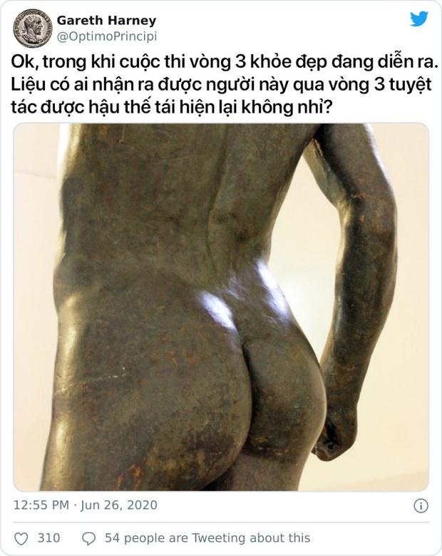 Cuộc chiến khốc liệt giữa các bảo tàng xem tác phẩm nghệ thuật nào có... bờ mông đốt mắt nhất! - Ảnh 7.