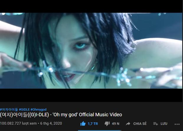 (G)I-DLE đánh bật IZ*ONE đạt 100 triệu view nhanh gấp 3 lần, nhưng liệu có vượt thành tích của ITZY và bản sao BLACKPINK trên YouTube? - Ảnh 1.