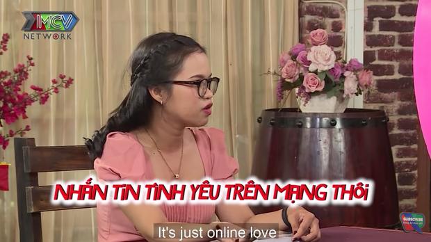 Cô gái có mối quan hệ mập mờ trên mạng vẫn đi show hẹn hò, MC Cát Tường khuyên nên tỉnh táo lên - Ảnh 1.