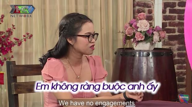 Cô gái có mối quan hệ mập mờ trên mạng vẫn đi show hẹn hò, MC Cát Tường khuyên nên tỉnh táo lên - Ảnh 2.