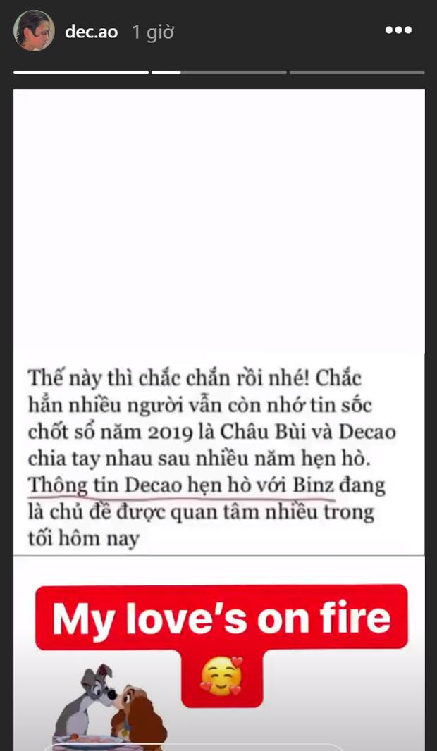 Chuyện không thể ngờ: Binz được Decao thả thính trên Instagram, nữ chính ngôn tình Châu Bùi thành nữ phụ đam mỹ?  - Ảnh 2.