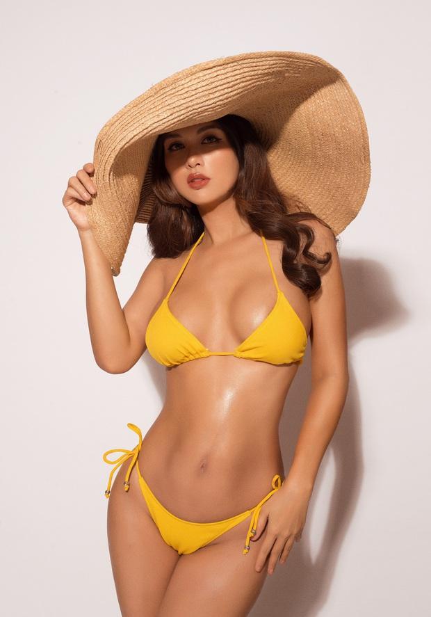 Oanh Yến tự tin thả dáng cực nuột với bikini: Nhìn hình có ai nghĩ nàng Hậu đã trải qua 6 lần sinh nở? - Ảnh 3.