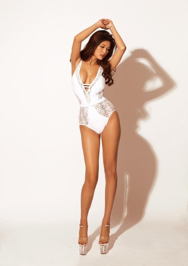 Oanh Yến tự tin thả dáng cực nuột với bikini: Nhìn hình có ai nghĩ nàng Hậu đã trải qua 6 lần sinh nở? - Ảnh 5.