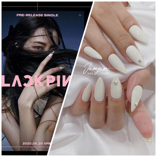 """Đi đâu cũng gặp """"nail Black Pink"""", đỉnh nhất là mẫu nail vuông lì giống Lisa nàng nào cũng muốn bắt chước - Ảnh 19."""