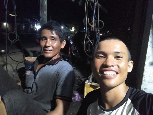 Chàng trai 23 tuổi đi bộ từ Nam ra Bắc trong 45 ngày, xin ăn và làm thuê dọc đường vẫn kêu gọi được tiền ủng hộ trẻ em nghèo - Ảnh 7.