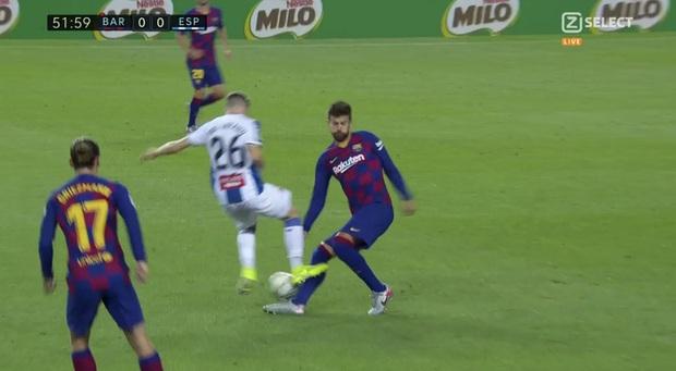 Messi và Barca nhọc nhằn đánh bại kẻ thù không đội trời chung trong trận cầu có số thẻ đỏ nhiều hơn bàn thắng - Ảnh 3.