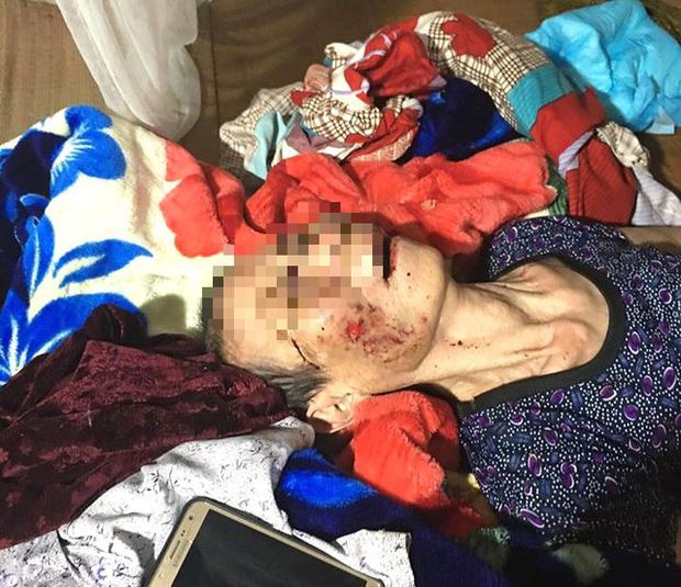Vụ con trai đánh mẹ đẻ 84 tuổi, bị bại liệt ở Hải Dương: Người chứng kiến sự việc nói gì? - Ảnh 3.