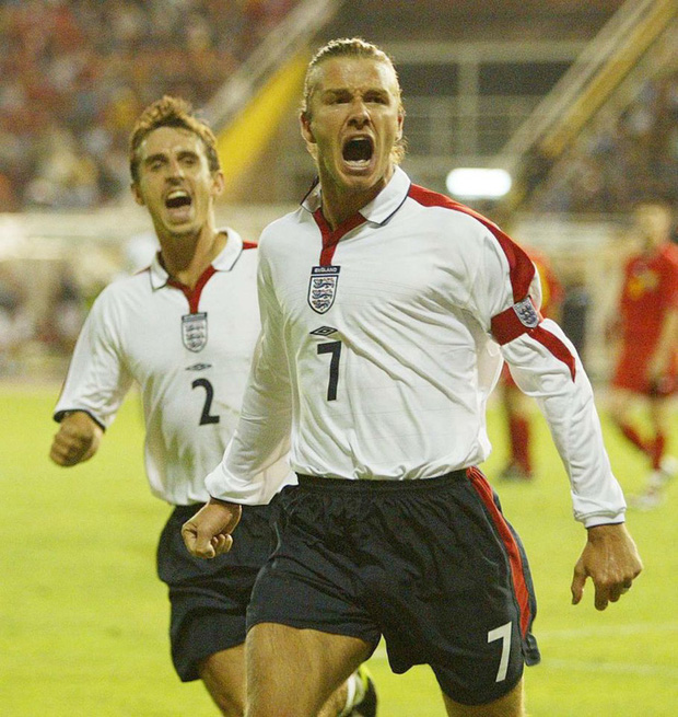 Cậu hai nhà Beckham gây chú ý với màn cosplay hình ảnh cha, nhìn kiểu tóc của anh chàng có fan còn phát khóc vì xúc động - Ảnh 3.