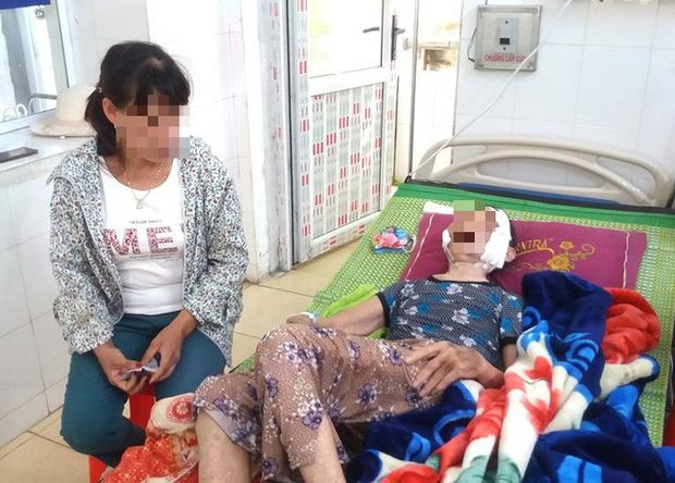 Vụ con trai đánh mẹ đẻ 84 tuổi, bị bại liệt ở Hải Dương: Người chứng kiến sự việc nói gì? - Ảnh 4.