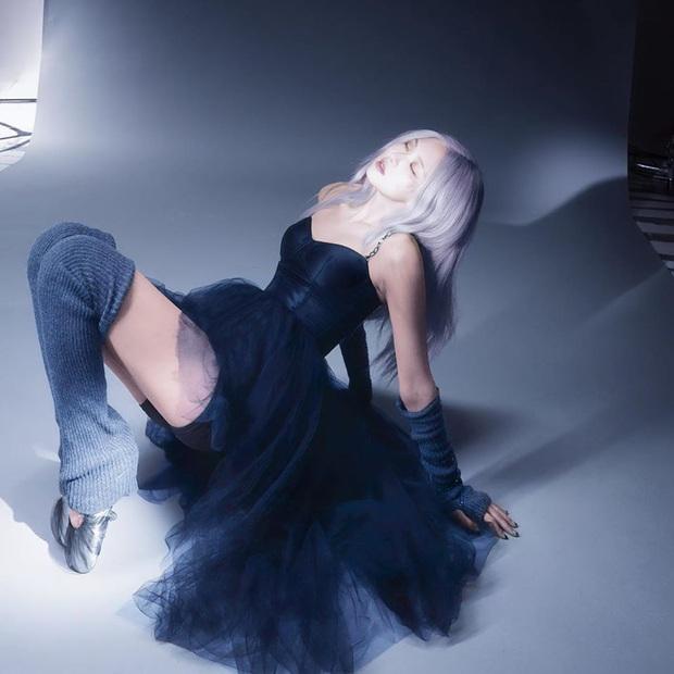 Rosé (BLACKPINK) xinh ngây ngất trong loạt ảnh hóa thiên nga đen được fan dùng photoshop tô lại màu - Ảnh 6.