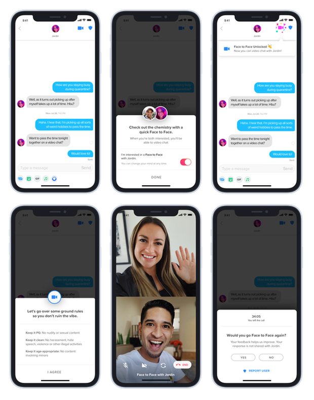 Tinder thử nghiệm tính năng Face to Face, quẹt phải và gọi video trò chuyện 1:1 cùng đối phương - Ảnh 2.