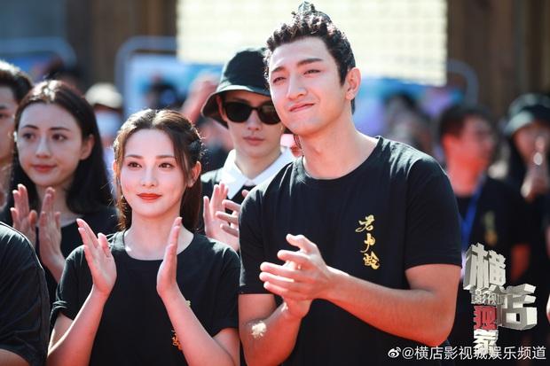 Bành Tiểu Nhiễm siêu xinh ở lễ khai máy phim mới, chị đẹp Đông Cung cuối cùng cũng tái xuất rồi! - Ảnh 3.
