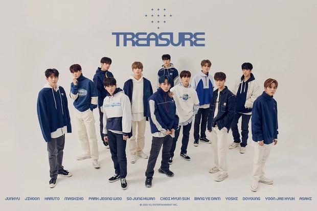 TREASURE chưa debut đã đạt nhiều thành tích đáng nể, gây ấn tượng khi vượt mặt toàn bộ tân binh YG về số lượng album đặt trước - Ảnh 8.