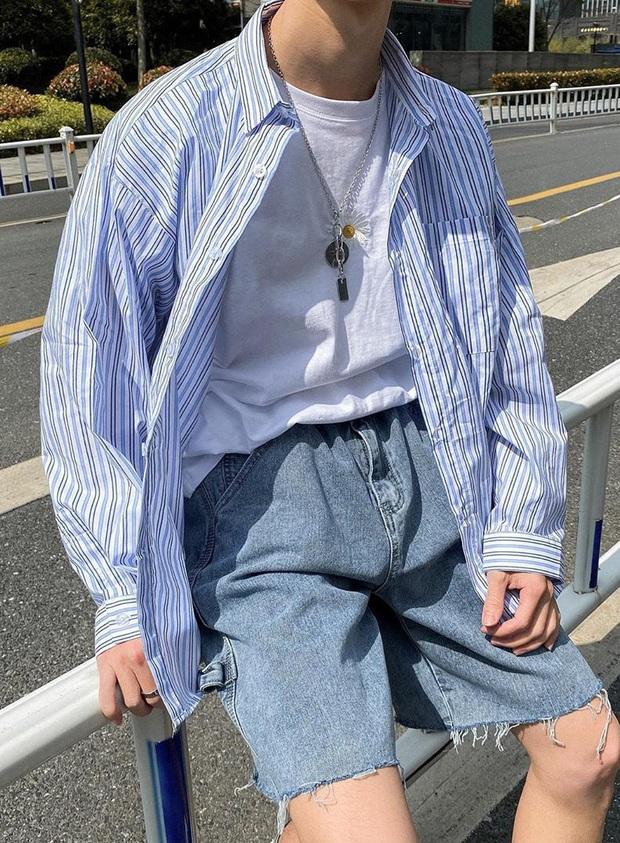 """Chỉ với chiếc áo phông cơ bản, các chàng trai có thể """"chế cháo"""" được nhiều outfit bảnh tỏn hết nấc - Ảnh 15."""