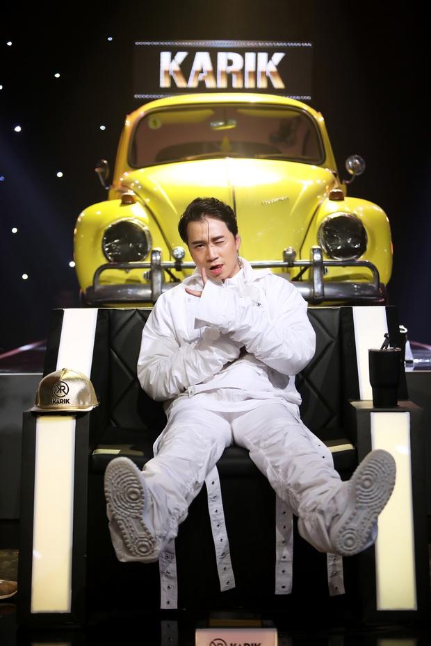Karik ngồi ghế nóng Rap Việt: Lo nhất là team Binz! - Ảnh 1.