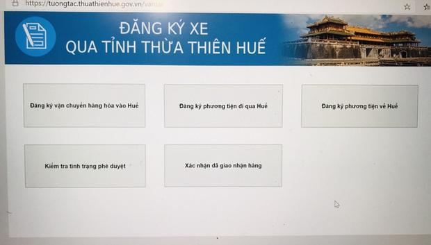 Lái xe cần biết khi vận chuyển hàng hóa đi qua, vào Thừa Thiên – Huế  - Ảnh 2.