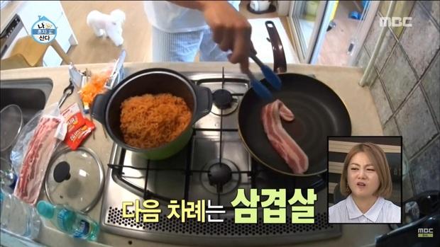 6 sao Hàn mang danh thánh mì tôm: Có chàng idol tuyên bố mẫu hình lý tưởng chỉ cần nấu mì ngon, bất kể giới tính - Ảnh 5.