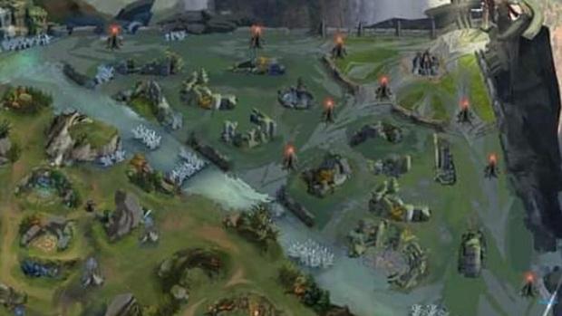 Rò rỉ map 4.0 của Liên Quân Mobile, game thủ khen đồ họa tiệm cận được với LMHT - Ảnh 5.