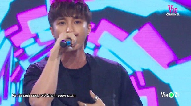Key (MONSTAR) bất ngờ làm thí sinh Rap Việt nhưng bị loại ngay vòng đầu, Binz gay gắt: Style này người khác đã làm 10 năm về trước rồi! - Ảnh 6.