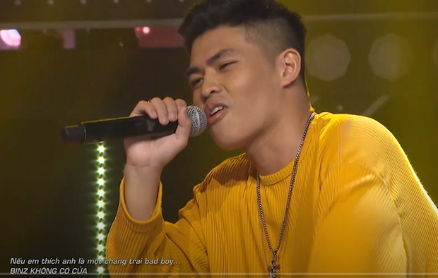 Xuất hiện thí sinh Rap Việt tự tin khẳng định Binz không có cửa làm bad boy so với mình! - Ảnh 2.