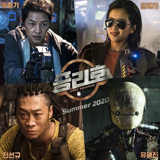 Lao công vũ trụ Song Joong Ki hốt nhầm vũ khí chết người ở bom tấn điện ảnh Space Sweepers - Ảnh 6.